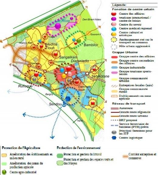 P les urbains et gestion fonci re une quation for Les espaces verts urbains